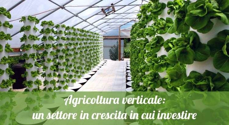 Continua la crescita dell'agricoltura verticale.