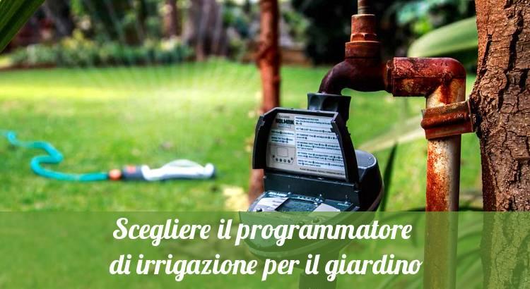 Centralina per programmare irrigazione automatica.