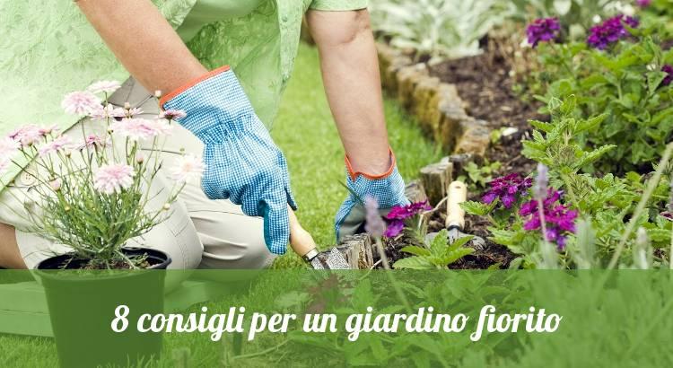Consigli per piantare un giardino con fiori.
