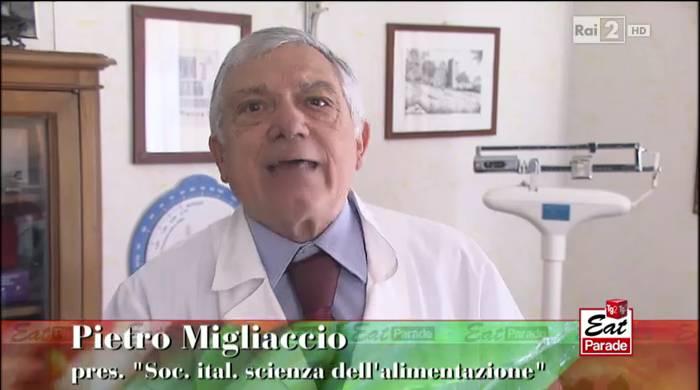 Pietro Migliaccio della Società Italiana di Scienza dell'Alimentazione.